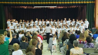 4th Grade Chorus and Memory Concert