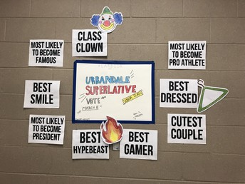 UHS Yearbook encourages seniors to participate in yearbook superlatives