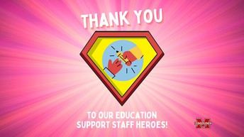 Happy Support Staff Week to our Heroes!