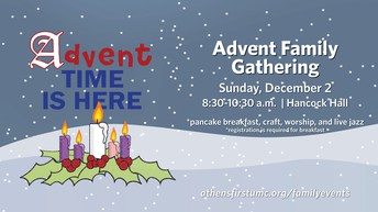 Advent Family Breakfast and Worship Service