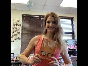 Mrs. Raeburn will post a video of her read aloud each day