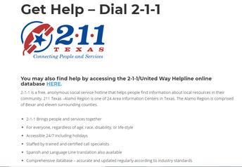 United Way Helpline