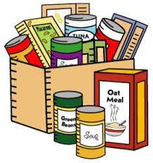 Suggested non-perishable items to bring: