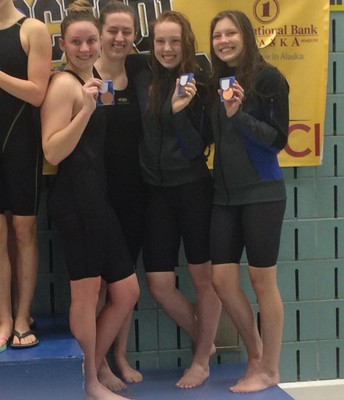 Palmer High Lady Moose Swim & Dive Team