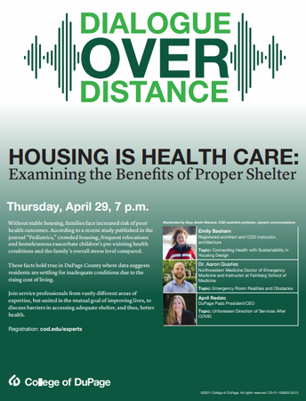 College of DuPage: Housing is Healthcare