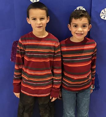 Stripey Twins!