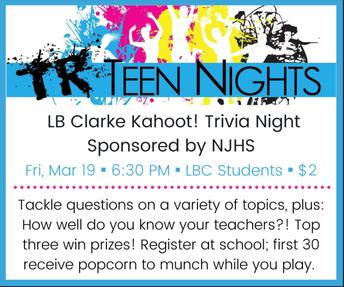 Teen Nights!