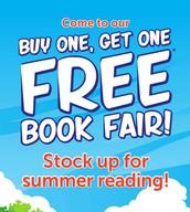 BOGO Book Fair Closes Friday, May 5th at 12:00!
