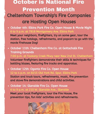 Fire Company Open Houses