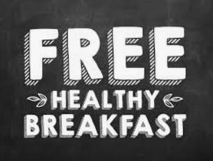 Desayuno Gratis todos los días!