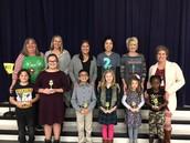 Principal's Star Award Recipients