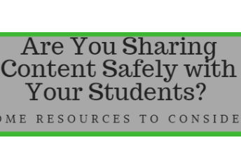 Safe Sharing Resources - Digital Safety