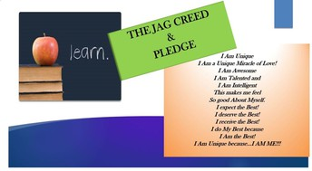 The Jaguar Creed!