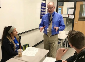 High School Teachers gain insight into AP grading