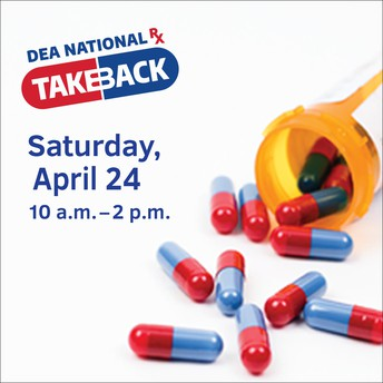 April 24 is National Medication Take Back Day