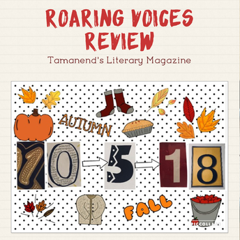 Roaring Voices Review--Tamanend's Literary Magazine