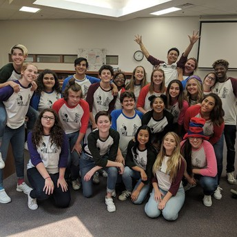 Chandler High Advanced Pantomime and Characterization performed at CUSD elementary schools
