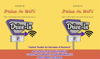 BISD WiFi Drive In
