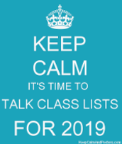Class Lists & Fly-ups