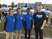 Carver HOSA Students at the Big Game