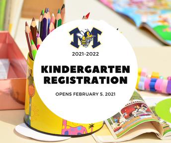 Kindergarten Registration for 2021-2022
