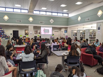 Girls, Inc Attracts 80 Students to Learn About Externship Programs