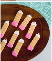 sugar wafer pencil cookies