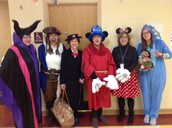 Our Staff Dressed up Too