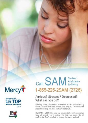 Call Sam Hotline:
