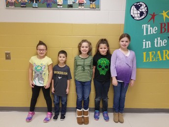 Outstanding KT Elementary Students
