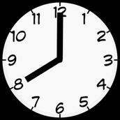 School begins at 8:00 a.m.