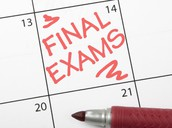Final Exam Reminders