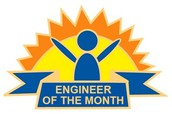 WHO is the January Engineer of the Month?