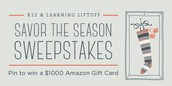 Savor the Season Pinterest Sweepstakes