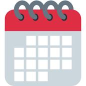 Calendario en línea de la escuela