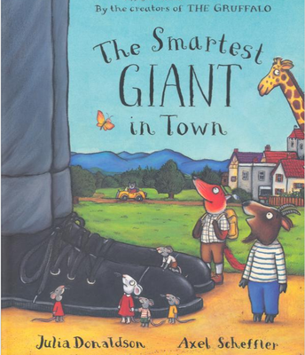 Mr Bowen reads The smartest Giant in Town