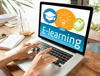 Virtual Learning Web page