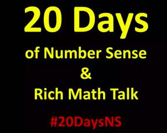 20 Days of Number Sense & Rich Math Talk (K-12)
