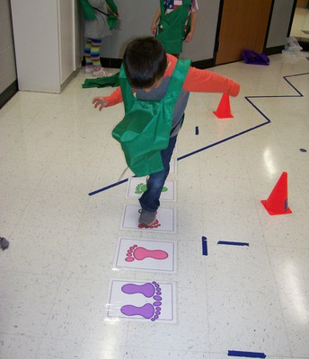 Pre-K Winter Olympic games.