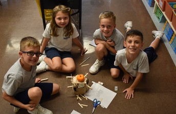 Take a Look at What Some of Our 3rd Grade Engineers Made This Week!