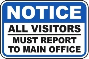 Visitor's Policy