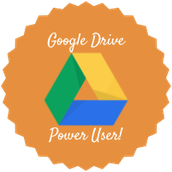 Google Drive Power Users Badge Recipients