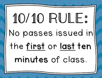 The 10/10 Rule: