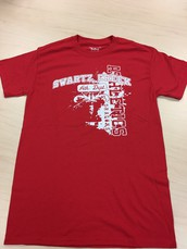Athletic T-Shirt-Red