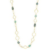 Arabesque Link Necklace - Gold