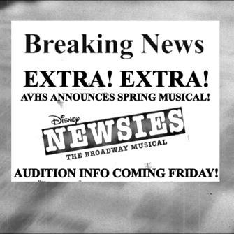 """Extra! Extra! AVHS to produce Disney's """"Newsies"""""""