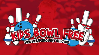 KIDS BOWL FREE ALL SUMMER AT MARNE OR STEWART BOWLING CENTERS STARTING 2 APRIL UNTIL 29 SEPTEMBER