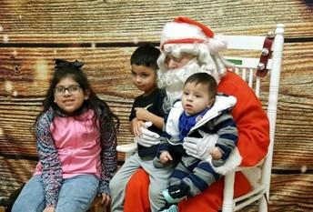 """Santa, we have been SO good this year!"""