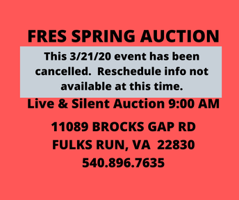 Picture of Spring auction cancellation