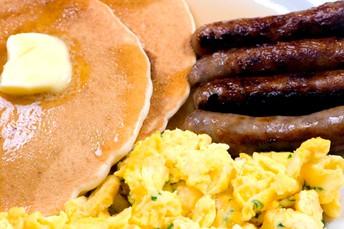 Pancake Breakfast now until 1pm